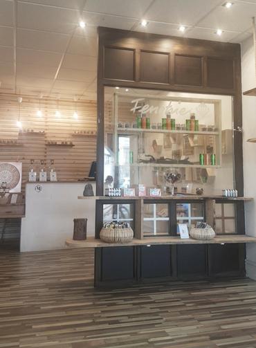 Boutique CBD intérieur